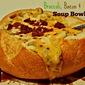 Broccoli, Bacon & Cheese Soup Bowls