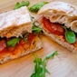 Smoked-Salmon BLTs with Chipotle Cream Cheese