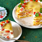 How to Make EASY Christmas Strawberry Mille Crêpe Cake - Video Recipe