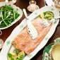 Perfect Poached Salmon In A Bernaise Sauce