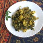 Methi Aloo- Fenugreek Potatoes