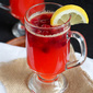 Hot Cranberry & Whiskey Lemonade