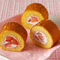 How to Make Mini Strawberry Roll Cake Without Oven (Swiss Roll Using Frying Pan) - Video Recipe