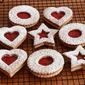 Linzer Kekse (Linzer Cookies)