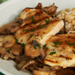 Griiled Chicken with Marsala & Mixed Mushrooms