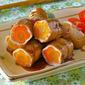 How to Make Flower Pork Teriyaki Rolls - Video Recipe