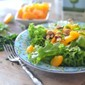 Mixed Greens and Mandarin Orange Salad with Candied Nuts