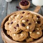 Clean Eating Cranberry Macadamia Nut Cookies