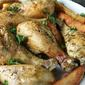 Baked Chicken Garlic