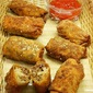 Super Bowl Eats: Cheeseburger Egg Rolls
