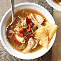 Slow-Cooker Tomatillo Chicken Soup