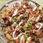 Baked BBQ Potato Wedges