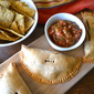 Pinto Bean, Green Olive, & Sweet Potato Turnovers