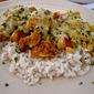 Crispy Southwestern Chicken in a Salsa Verde Cream Sauce