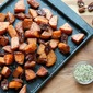 Roasted Sweet Potatoes with Pecans