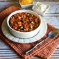 Easy Turkey Chili with Peppers, Mushrooms, and Olives (Gluten-Free, Freezer-Friendly)