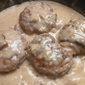 Turkey Salisbury Steaks with Mushrooms
