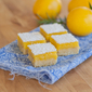 Pucker Up | Meyer Lemon Bars with Rosemary Pine Nut Shortbread