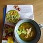 Pesto Chicken Macaroni Soup - Recipe Clippings
