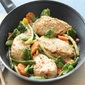 Chicken and Vegetables Parmesan
