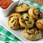 Cheesy Sausage Pinwheels