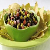 Black Bean-Salsa Dip