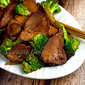 Chinese BBQ Pork with Broccoli