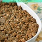 Almond-Apple Crisp~ Secret Recipe Club