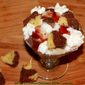 5 minute Valentines Day Trifle Dessert