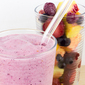 Frozen Fruit Salad Smoothie