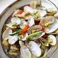 Steam Lala/Clams With Curry Leaves