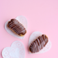 Chocolate Covered Strawberry Eclairs For Two