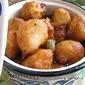Rosh Bora / Lentil dumplings in Sugar syrup