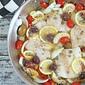 Mediterranean Heart Healthy One Pot Wonder White Fish Dinner