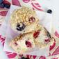 Berry Cheesecake Muffins