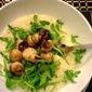 Parmesan, Rocket and Button Mushroom Risotto - Recipe