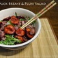 Duck and Plum Salad for Chinese New Year