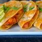 Encamaronadas (Cheesy Shrimp Tacos)