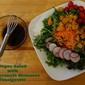 Super Salad with Pomegranate Vinaigrette
