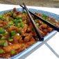 Bob's in the Kitchen - Sichuan Stir-Fried Chicken with Garlic Sauce