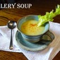 Join me for Celery Soup and a Spring Four Course Dinner