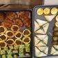 Zucchini Parmesan Squares