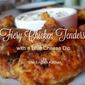 Fiery Chicken Tenders with a Blue Cheese Dip