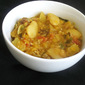 Bangalore Sambar with Toor Dal and Lima Beans