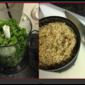 Kale and Almond Pesto with Artichoke Spaghetti