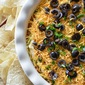 Seven Layer Green Chile Dip