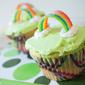 Lucky Rainbow Cupcakes