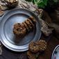 flourless maple walnut peanut butter cookies + a giveaway