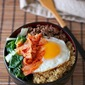 Spicy Korean beef bowl