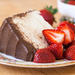 Angels & Devils | Angel Food Cake with Chocolate Frosting